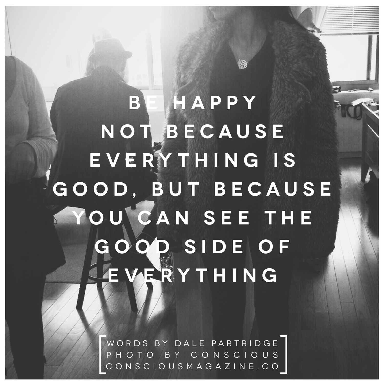 Be Happy…